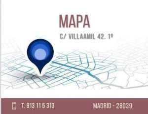 Mapa Calle Villaamil 42