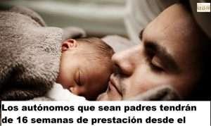 Los autónomos que sean padres tendrán de 16 semanas de prestación desde el 2021 instagram